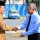Pengukuhan Abdul Basit Lao, kembali memimpin PDAM Delta Tirta oleh Bupati Sidoarjo Saiful Ilah. (wan)