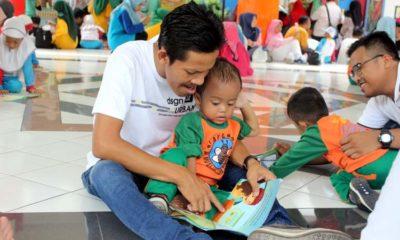 Family Day di KB - TK Al Muslim Diisi Berbagai Perlombaan Libatkan Orangtua