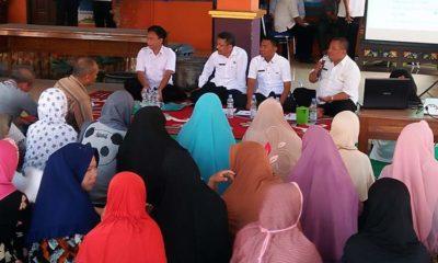 Sosialisasi PTSL di Desa Barengkrajan Kecamatan Krian. (par)
