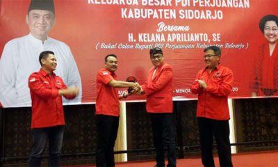 Kelana Siap bersama PDIP Menangkan Pilkada Sidoarjo