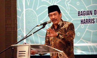 INOVASI - Plt Bupati Sidoarjo, Nur Ahmad Syaifuddin membuka acara Kompetensi Pelayanan Publik di Hotel Harris Malang, Selasa (21/01/2020) malam