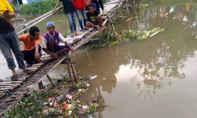 Bayi Lelaki Mengapung di Sungai Ngaresrejo Sukodono Gegerkan Warga