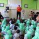Siswa KB-TK Al Muslim Berlatih Mitigasi Bencana Banjir dan Gempa