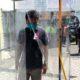 Cegah Covid 19, Desa Jemirahan Budayakan Physical Distancing, Siapkan Bilik Disinfektan di Balai Desa