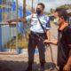 PENYEMPROTAN - Sebanyak 16 petugas melaksanakan penyemprotan disinfektan di seluruh ruang Lapas Kelas I Surabaya di Desa Kebonagung, Kecamatan Porong, Sidoarjo, Senin (13/4/2020)