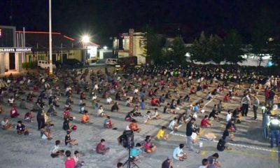 Ratusan Pembalap Liar Terancam Hukuman Ikut Makamkan Korban Covid-19