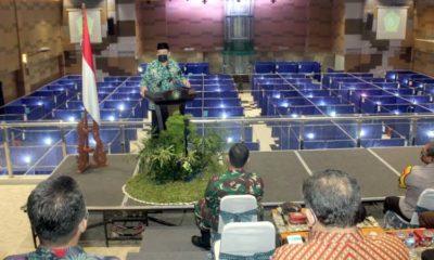 LAUNCHING - Ketua Gugus Tugas Penanganan Covid-19, Nur Ahmad Syaifuddin melaunching Mal Pelayanan Publik (MPP) sebagai tempat isolasi Orang Tanpa Gejala (OTG) Covid-19, Kamis (11/6/2020)
