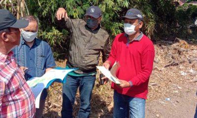 SIDAK - Panitia khusus (Pansus) Rancangan Tata Ruang Wilayah (RTRW) DPRD Sidoarjo inspeksi mendadak (sidak) di 3 desa di Kecamatan Krembung temukan 750 hektar lahan hijau diajukan menjadi lahan kuning, Sabtu (13/6/2020)