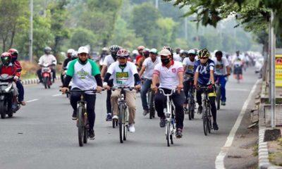 Gandeng Komunitas Onthelis Sepeda Tua, BHS Siap Bangun Jalur dan Spot Khusus