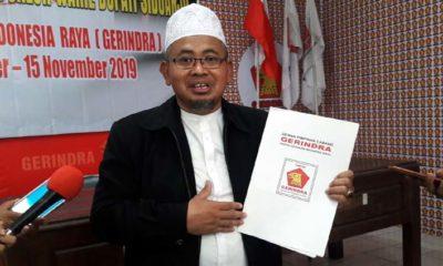 Bacabup Perseorangan (Independen) Sidoarjo, Agung Sudiyono yang sempat mendaftar di Partai Gerindra dan ke KPU Sidoarjo beberapa waktu lalu, kini mengundurkan diri dari perhelatan Pilkada di Sidoarjo
