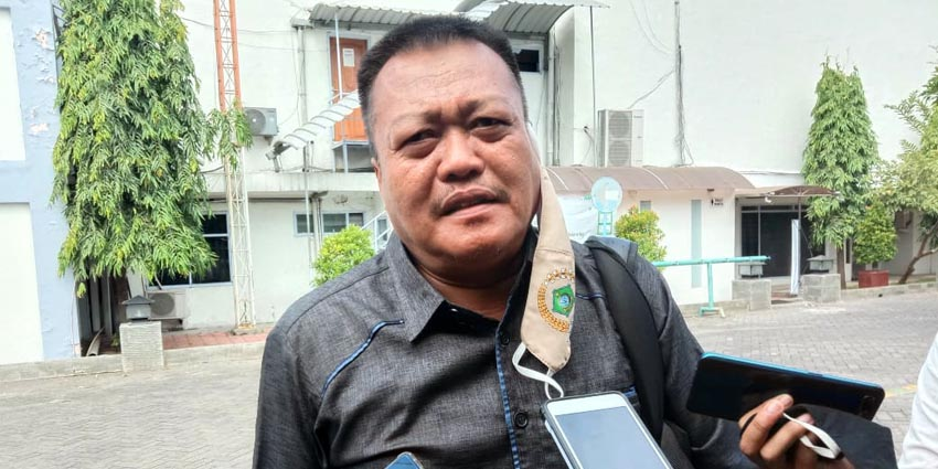 Ketua Komisi C DPRD Sidoarjo, Suyarno
